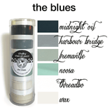 My Stencil Lady Paint Chalky Stencil Paint - The Blues Chalky Stencil Paint - The Blues Chalk Painting Stencils Australia
