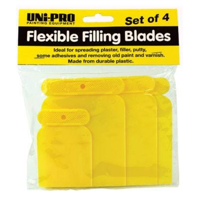 Uni-Pro Smoother Smoother Flexible Filling Blades - Plastic Chalk Painting Stencils Australia