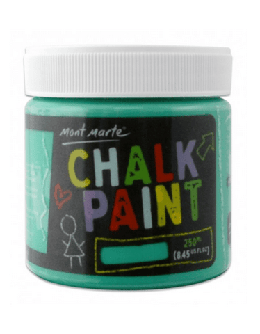 Mont Marte Studio Crackle Paste Green Chalkboard Paint 250ml - Green Chalk Painting Stencils Australia
