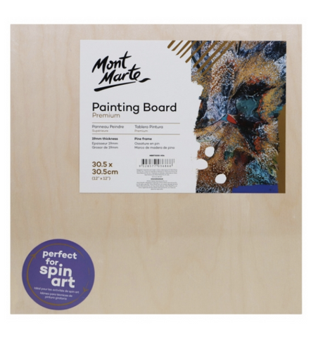 Premium Painting Board 30.5 x 30.5cm (12 x 12in)