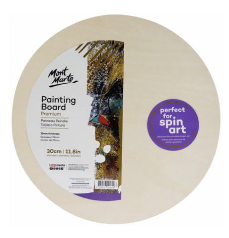 Premium Painting Board Round 30cm (11.8in)
