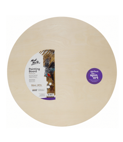 Premium Painting Board Round 50cm (19.7in)