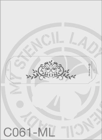 My Stencil Lady Stencil Medium Long - 245x75mm Max Design Cutout (Sheet Size 315x95mm) Stencil C061 Chalk Painting Stencils Australia