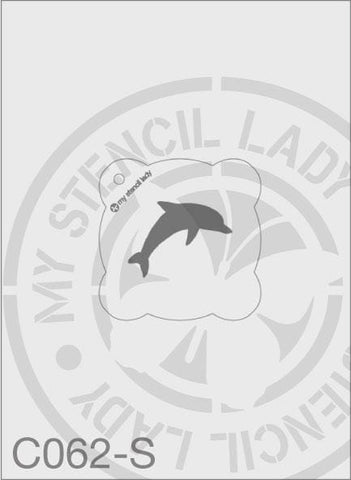 My Stencil Lady Stencil Small Round - 65mm Max Design Cutout (Sheet Size 95x95mm) Stencil C062 Chalk Painting Stencils Australia