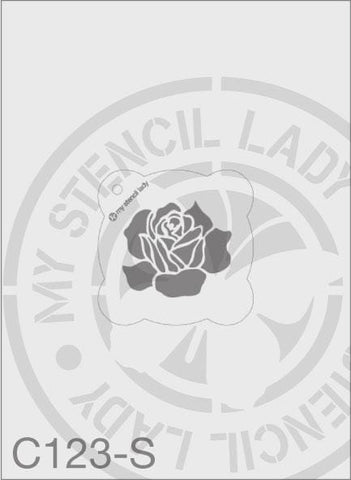 My Stencil Lady Stencil Small Round - 65mm Max Design Cutout (Sheet Size 95x95mm) Stencil C123 Chalk Painting Stencils Australia