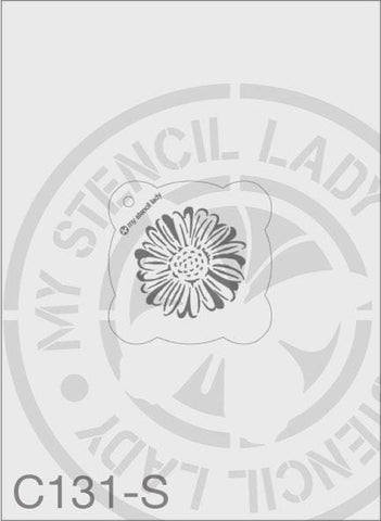 My Stencil Lady Stencil Small Round - 65mm Max Design Cutout (Sheet Size 95x95mm) Stencil C131 Chalk Painting Stencils Australia