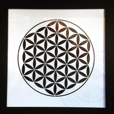 Artwork Print Framed AF002 - My Stencil Lady Australian Made Stencils Mandala Vintage Craft Scrapbooking