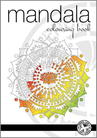 Mandala Colouring Book - My Stencil Lady Australian Made Stencils Mandala Vintage Craft Scrapbooking