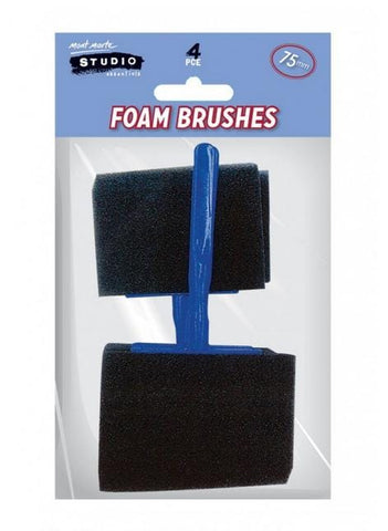 Foam Hobby Brushes 75mm
