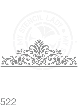 My Stencil Lady Stencil Stencil 522 Chalk Painting Furniture Decor Stencils
