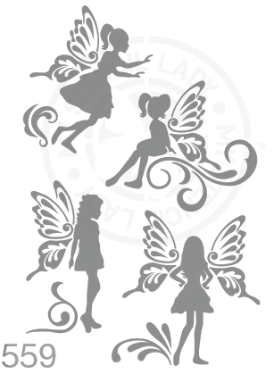 My Stencil Lady Stencil Stencil 559 Chalk Painting Furniture Decor Stencils
