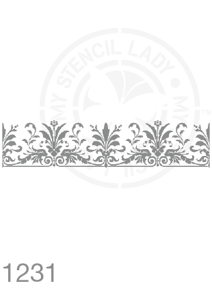 My Stencil Lady Stencil Stencil 1231 Chalk Painting Furniture Decor Stencils