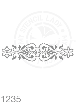 My Stencil Lady Stencil Stencil 1235 Chalk Painting Furniture Decor Stencils