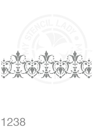 My Stencil Lady Stencil Stencil 1238 Chalk Painting Furniture Decor Stencils
