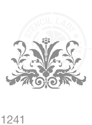 My Stencil Lady Stencil Stencil 1241 Chalk Painting Furniture Decor Stencils