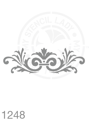 My Stencil Lady Stencil Stencil 1248 Chalk Painting Furniture Decor Stencils