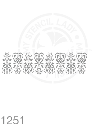 My Stencil Lady Stencil Stencil 1251 Chalk Painting Furniture Decor Stencils