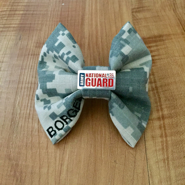 Army National Guard Charm Bow