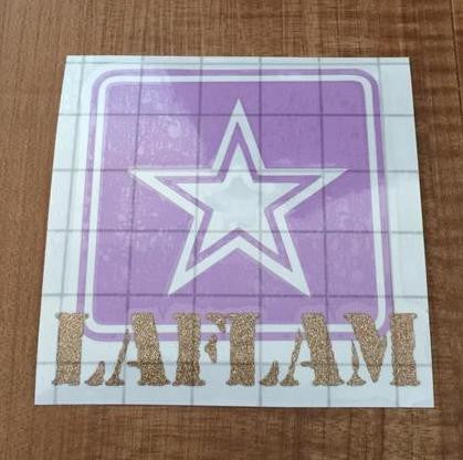 Personalized Army Decal