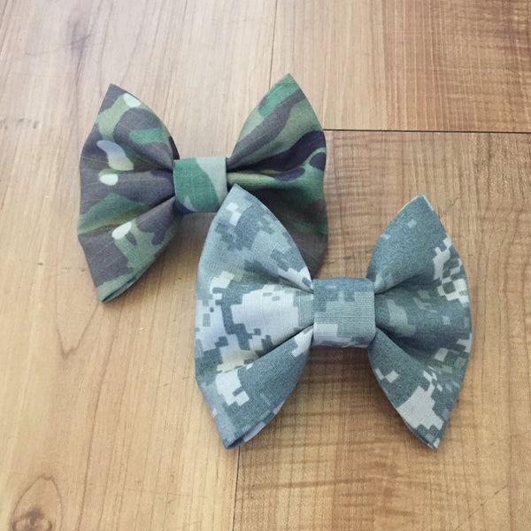 Army Two-Pack Plain ACU and Multicam OCP Bows