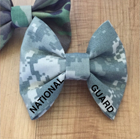 Army National Guard Classy Corner Bow