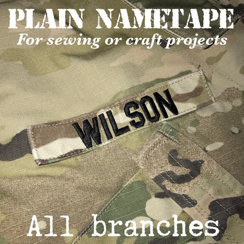Plain Nametape (all branches)