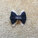 Mini Lace Nametape Bow (all branches)