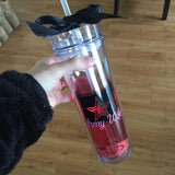 Military Wife/Girlfriend/Etc Logo Skinny Tumbler Cup (20% off flash sale!)