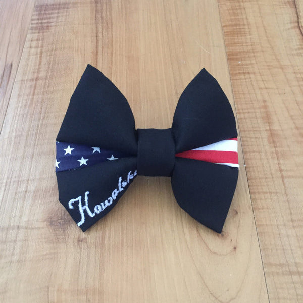 Thin Flag Line Bow