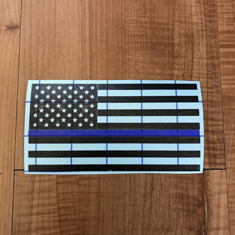 Thin Line Flag Decal