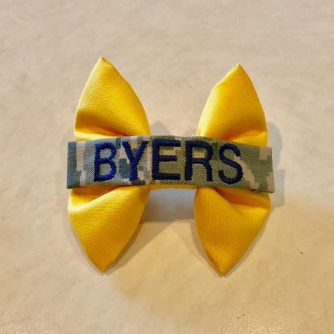Yellow Ribbon Nametape Bow (all branches)