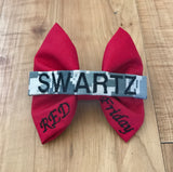 RED Friday Nametape Bow (all branches)