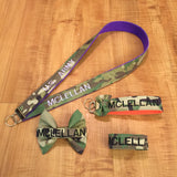 Lanyard, Wristlet, Nametape Bow, and Bracelet Bundle (all branches)
