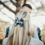 U.S. Navy Digi Blue Nametape Bow