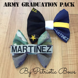 Army Graduation Bow Pack