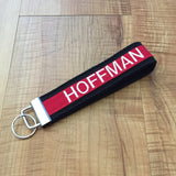 The Thin Red Line Firefighter Wristlet