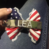 Lace Flag 2.0 Bow with Camo Nametape (all branches)