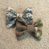 Army ACU and Multicam OCP Classy Corner Bow Pack