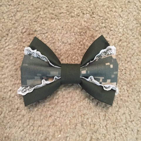 Army ACU Deluxe Lace 2.0 Bow (old Army uniform)