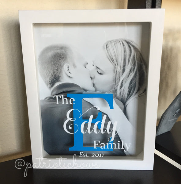 Personalized 8x10 Shadow Box
