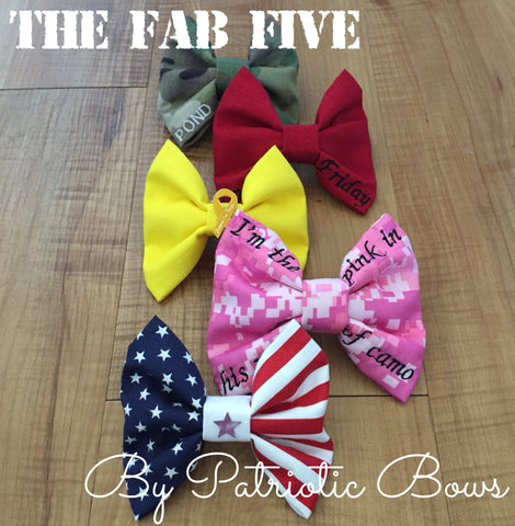 The Fabulous Five Bow Bundle (all branches)