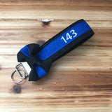 The Thin Blue Line Wristlet (Police/Law enforcement)