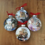 Personalized Military Christmas Ornament