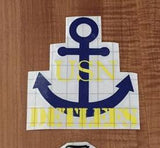 Personalized U.S. Navy Decal