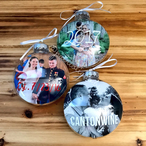 Personalized Christmas Ornament (non military)