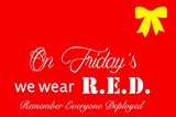 RED Friday Women's Fitted V Neck Shirt