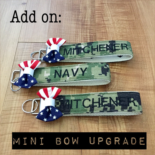 Special Bow Upgrade (Wristlets/Lanyards sold separately)
