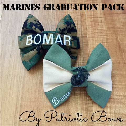Marines Graduation Bow Pack (San Diego & Parris Island)