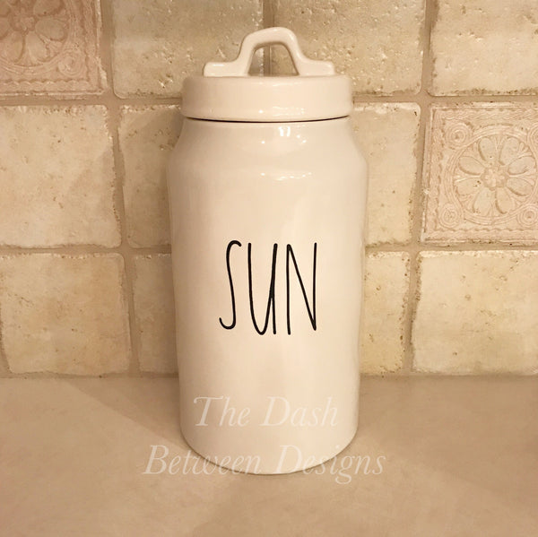 Rae Dunn Inspired SUN Decal