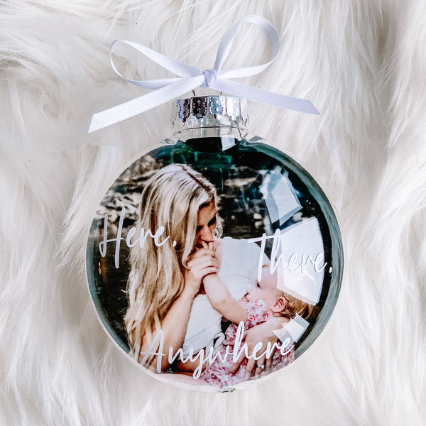 Breastfeeding Photo Keepsake Ornament